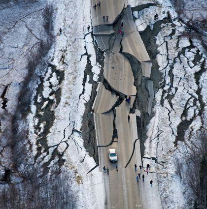 Magnitude 7.1 Earthquake Strikes Southcentral Alaska