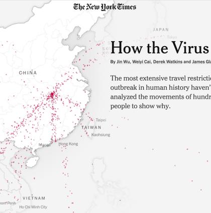 Visualizing the Coronavirus Outbreak