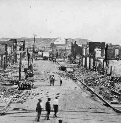 What the 1921 Tulsa Race Massacre Destroyed